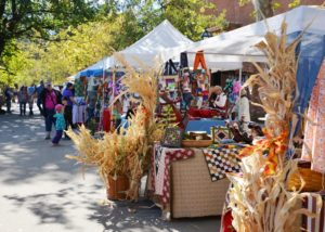 The Harvest Festifall is October 8 and 9 from 10 a.m. to 5 p.m. on Main St.